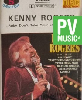 KENNY ROGERS  RUBY DON'T TAKE YOUR LOVE TO TOWN audio cassette