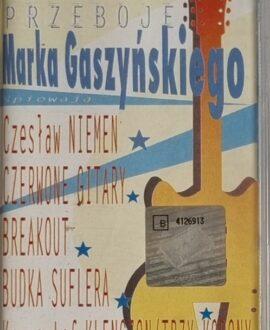 PRZEBOJE M.GASZYŃSKIEGO  NIEMEN, CZERWONE GITARY...audio cassette