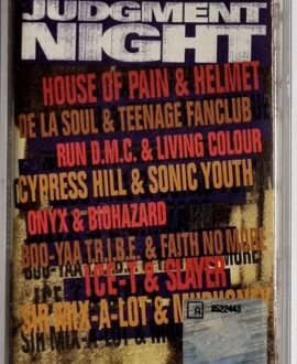 JUDGEMENT NIGHT  SOUNDTRACK audio cassette