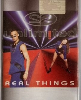 2 UNLIMITED  REAL THINGS audio cassette
