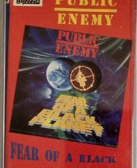 PUBLIC ENEMY  FEAR OF A BLACK PLANET audio cassette