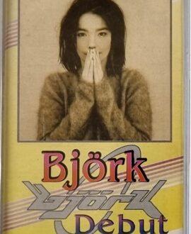 BJORK  DEBUT audio cassette
