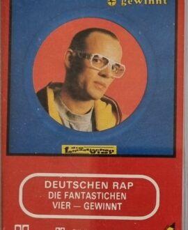 DIE FANTASTICHEN VIER  VIER GEWINNT audio cassette