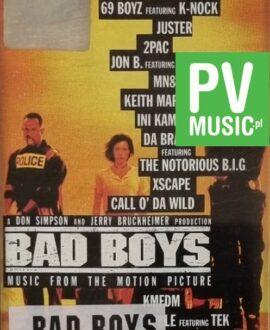 BAD BOYS  SOUNDTRACK - WARREN G., 2 PAC..audio cassette