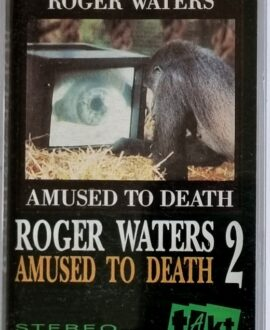 ROGER WATERS  AMUSED TO DEATH 2 audio cassette
