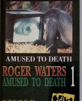 ROGER WATERS  AMUSED TO DEATH 1 audio cassette