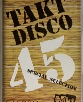 TAKT DISCO 45  CAPTAIN HOLLYWOOD, DR. ALBAN..audio cassette