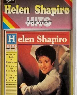 HELEN SHAPIRO  GREATEST HITS audio cassette