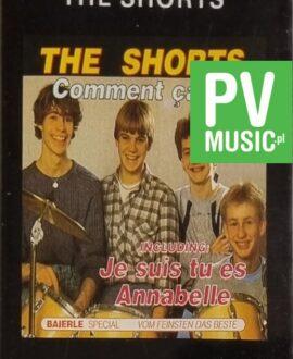 THE SHORTS  COMMENT SA VA audio cassette