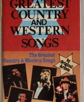THE GREATEST COUNTRY  KENNY ROGERS.. audio cassette