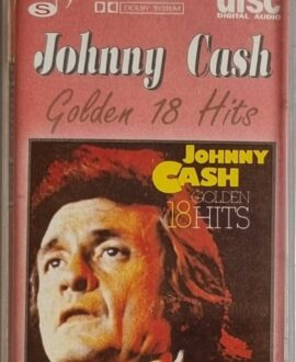 JOHNNY CASH  GOLDEN 18 HITS audio cassette