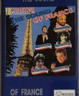 THE SOUND OF FRANCE  ADAMO, DEMIS ROUSSOS...audio cassette