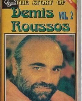 DEMIS ROUSSOS  THE STORY OF vol.2 audio cassette