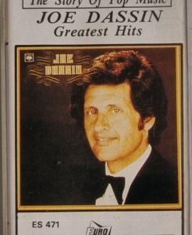 JOE DASSIN  GREATEST HITS audio cassette
