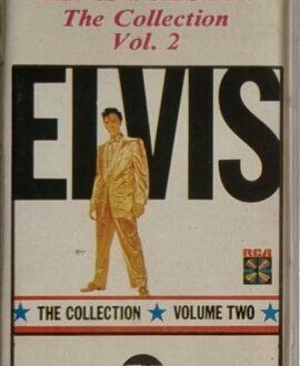 ELVIS PRESLEY  THE COLLECTION vol.2 audio cassette
