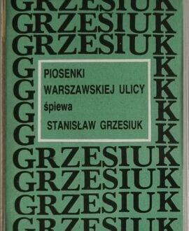 S.GRZESIUK  PIOSENKI Z WARSZAWSKIEJ ULICY audio cassette