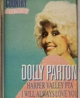 DOLLY PARTON  COUNTRY HEROES audio cassette