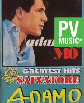SALVATORE ADAMO  GREATEST HITS audio cassette