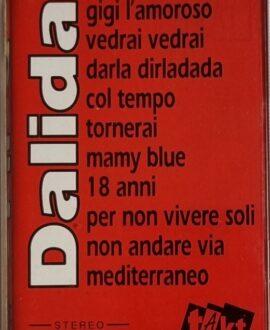 DALIDA  GREATEST HITS audio cassette