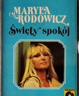 MARYLA RODOWICZ  ŚWIĘTY SPOKÓJ audio cassette