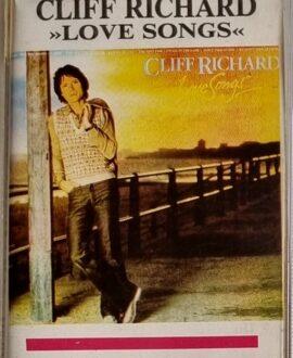 CHLIFF RICHARD  LOVE SONGS audio cassette