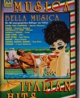 ITALIAN HITS  A.CELENTANO, F. NAPOLI..audio cassette