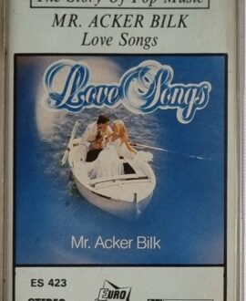 MR. ACKER BILK  LOVE SONGS audio cassette