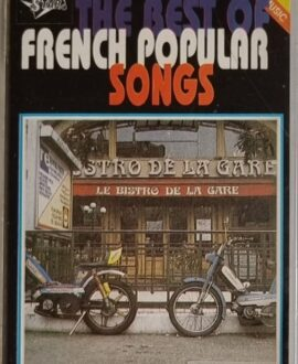 FRENCH POPULAR SONGS  DALIDA, FRIDA...audio cassette