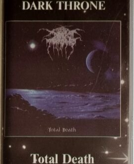 DARK THRONE  TOTAL DEATH audio cassette