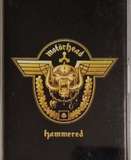 MOTORHEAD  HAMMERED audio cassette